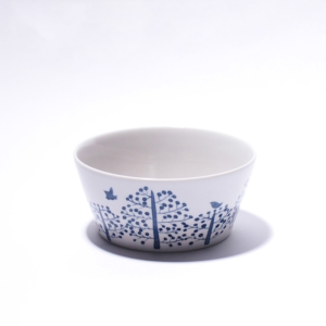 Eating/storage bowl: Forest