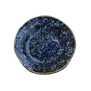 Mino ware plate 9,2cm: Hanamaru