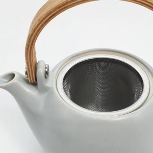 Miyama: Craftsman-made tea pot Gray