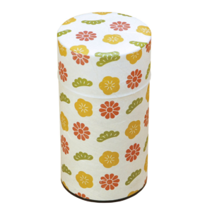 Tea canister Flower (Large)