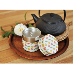 Tea canister Flower (Small)