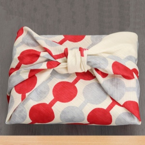 Handmade Furoshiki cloth: Dango Taisho retro