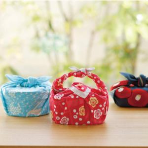 Handmade Furoshiki cloth: Dandelion Taisho retro