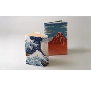 Handmade Furoshiki cloth: Ukiyoe The great wave of Kanagawa