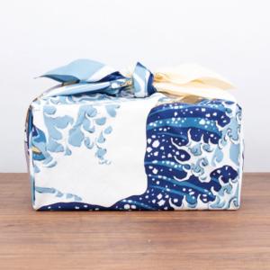 XL Furoshiki cloth: Ukiyoe The great wave of Kanagawa
