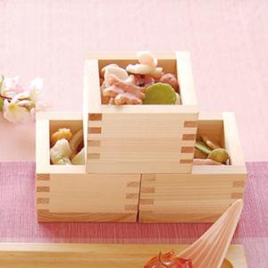 Masu: Square wooden box/cup