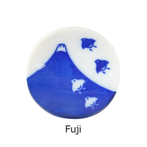 Mino ware: Mt. Fuji Chopsticks rest