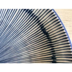 Mino ware: Medium ellipse plate