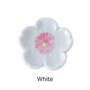 Mino ware: Sakura Chopsticks rest pink white