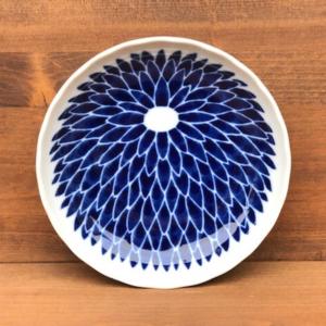 Mino ware Plate 16cm: Chrysanthemum