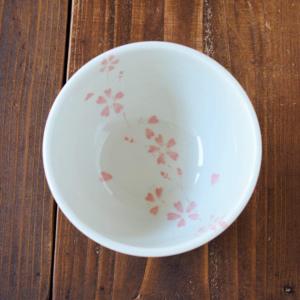 Mino ware Domburi 13cm: Sakura / weeping cherry blossoms