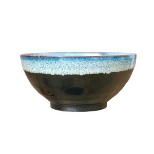 Mino ware Domburi 18.5cm: Tenmoku