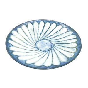Mino ware Plate 16.5cm: Kohiki Flower