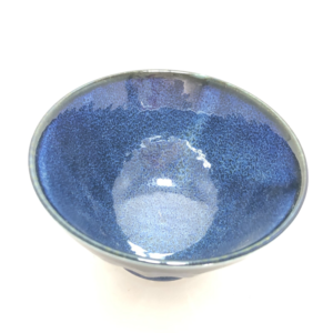 Mino ware Rice bowl: Shinogi scorched surface coloring