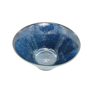 Mino ware Tall bowl: Ocean