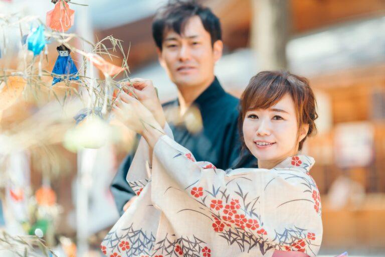 """Tanabata"" celebration in Japan"