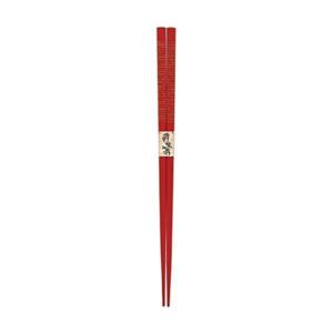 Wakasa lacquered chopsticks: Sendan vermilion