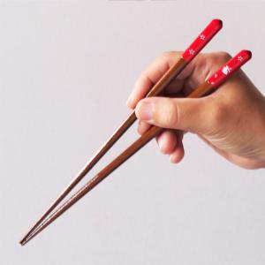 Wakasa lacquered chopsticks: Rabbit red